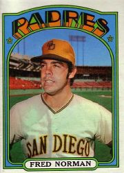 1972 Topps Baseball Cards      194     Fred Norman